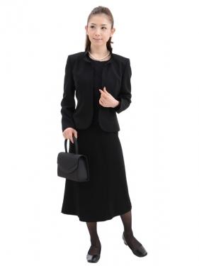 女性礼服104 [アンサンブル][前ファスナー]