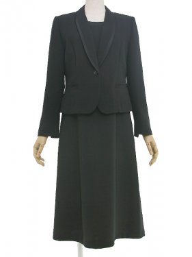 [東京発送]女性礼服NAZK013アンサンブル[前ファスナー