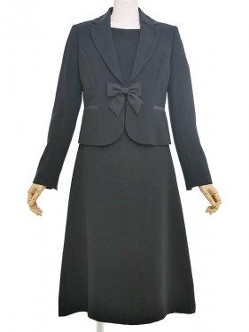 [東京発送]女性ブラックフォーマルNAZK006アンサンブル