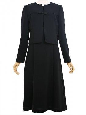 [東京発送]女性ブラックフォーマルNAZK010アンサンブル