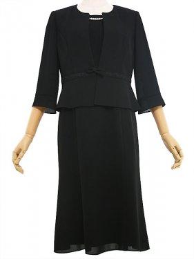 [東京発送]女性サマーブラックフォーマル NAZK045  (11