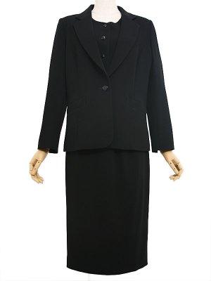 【K019】9号(M),23号(7L) スカートスーツ