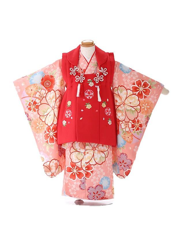 被布 女の子 ピンク 桜 3226