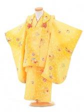 753レンタル(3歳女被布)0360黄色小花