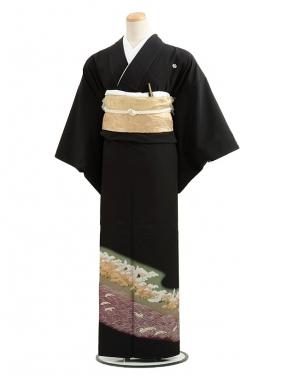 黒留袖レンタルC7002松林