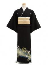 黒留袖レンタルC7011松竹梅