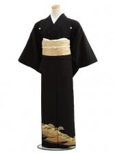 黒留袖レンタルC7010松