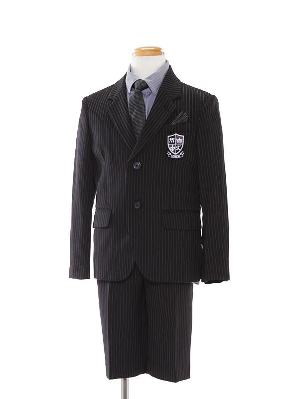 [男児]110cmストライプモードスーツBS41