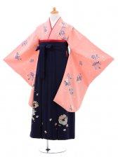 小学生卒業式袴(女の子)レンタルB070ピンク