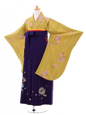 小学生卒業式袴(女の子)レンタルB027グリー