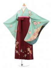 小学生卒業式袴(女の子)レンタルB053薄グ