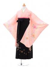 小学生卒業式袴(女の子)レンタルB023ピンク