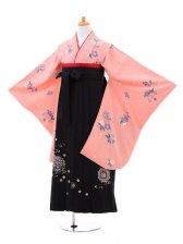 小学生卒業式袴(女の子)レンタルB010ピンク
