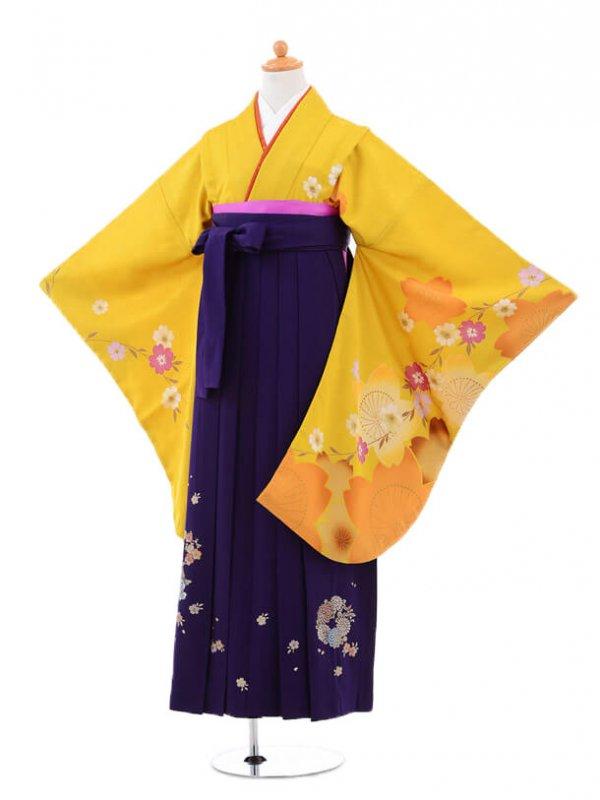 小学生卒業式袴(女の子)レンタルB013から