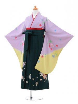 小学生卒業式袴(女の子)レンタルB001水色