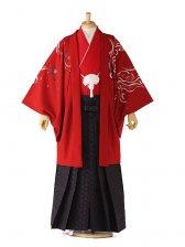 japan style 赤×黒 トラ柄 0044