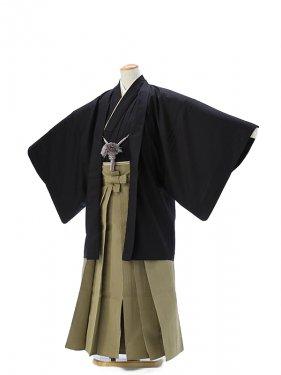 羽織・袴0040紺地白