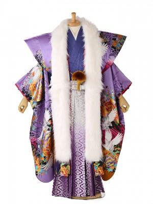 【傾奇者】 袴レンタル BASARA 紫 132
