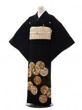 黒留袖レンタル4314雪輪刺繍