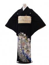 黒留袖レンタル4344桂由美バラの王室