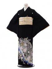 黒留袖レンタル4380桂由美バラの戯れ2