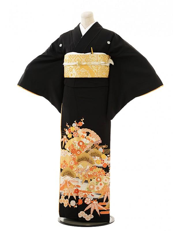 黒留袖レンタル4428桂由美古典の響き