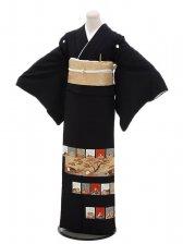黒留袖レンタル4316松梅風雅歌