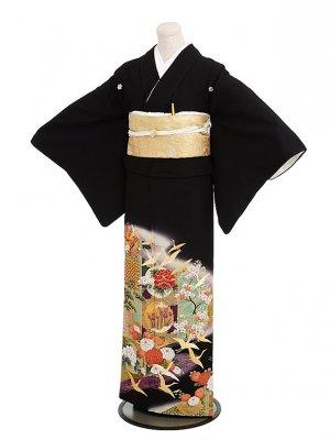 留袖 レンタル 4339寛斎舞鶴四季花紫