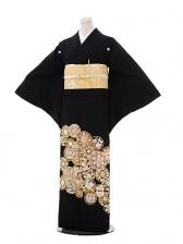 黒留袖レンタル4446手刺繍 華紋