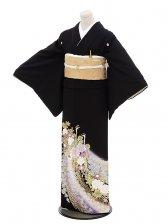 黒留袖レンタル4331桂由美慶びの孔雀