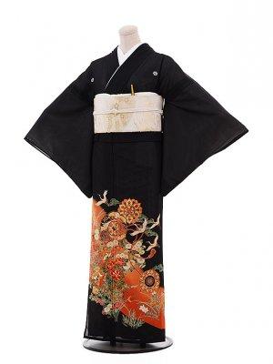 夏留袖 4461 鶴に古典柄