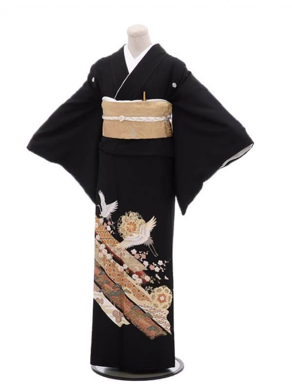 留袖 レンタル 4286熨斗に鶴