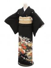 黒留袖レンタル4103祝い花