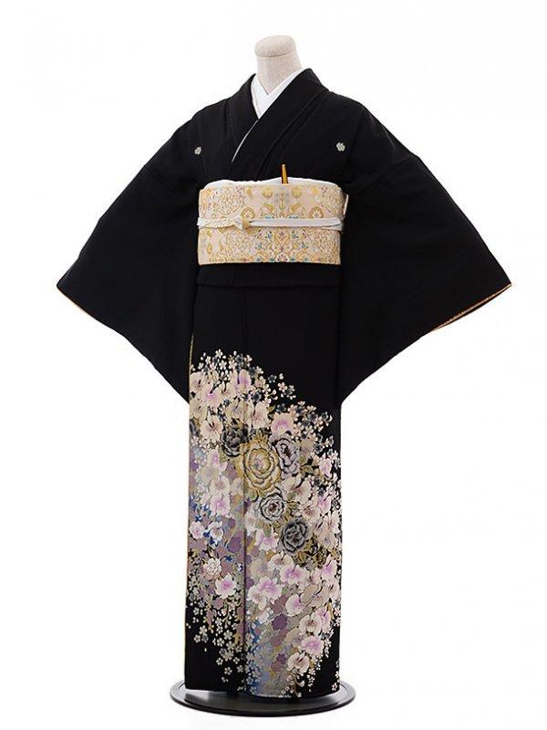 黒留袖レンタル4301桂由美花と共に