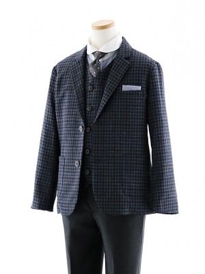 [男児スーツ]長ズボン E.ZEGNA グレー 細身 1022 140cm~