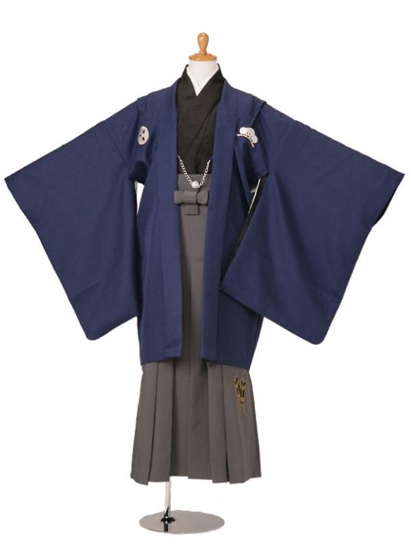 小学生卒業式袴男児KKD-15紺/黒/グレー