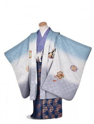 753レンタル(5歳)ブルーぼかし刺繍