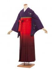 女袴(8111)紫/朱赤袴95