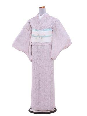 【正絹】紋紗 56 薄ピンク