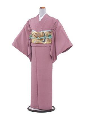 【正絹】訪問着レンタル 332 ピンク色無地/一つ紋