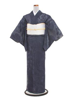 【正絹】紋紗 37 青紫/紗夏着物