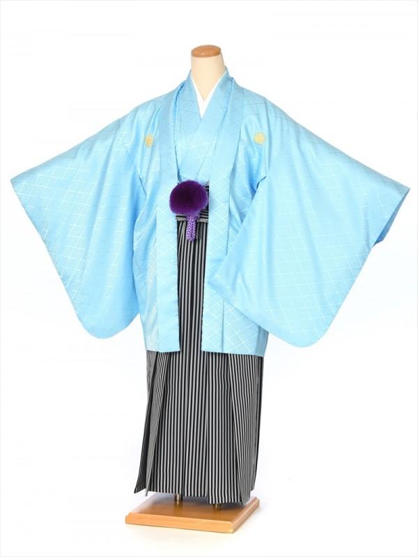 ジュニア用紋付袴セットレンタル8AQL01
