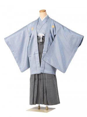 小学生卒業式袴男児0002 錆浅葱