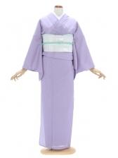 色無地(絽)6薄紫