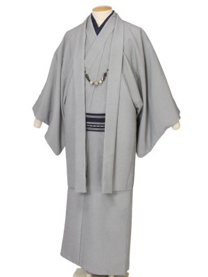 ワンタッチ 男 単衣(S 163-168cm)白系