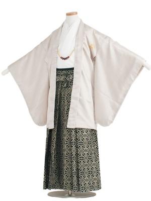 小学校 卒業式 男の子 袴1341 クリーム/白袴
