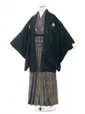 ジュニア(13男)jr1342 黒/グレー袴
