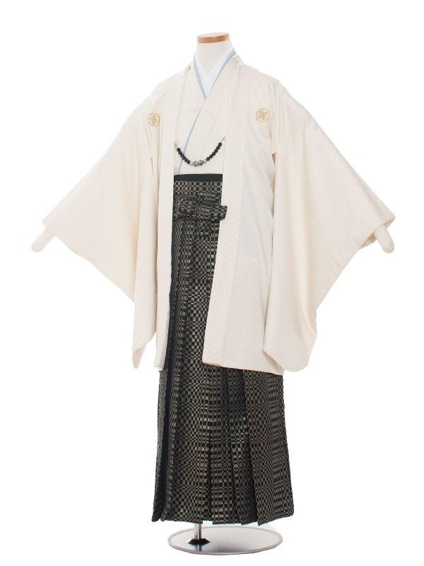 小学生卒業式袴男児1347 アイボリー/クリーム袴80