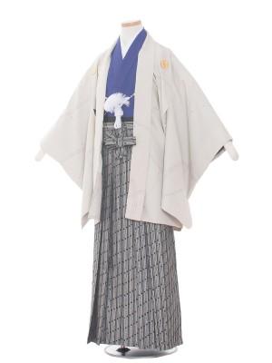小学校 卒業式 男の子 袴1415 ベージュ/紺