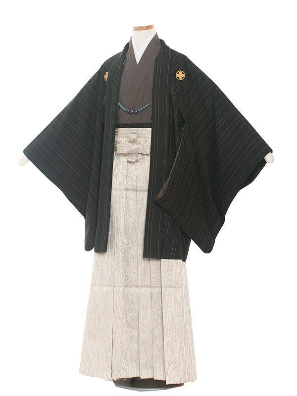小学生卒業式袴男児1353 黒/袴
